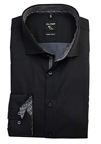 OLYMP Super Slim Hemd ELA schw Größe KW41