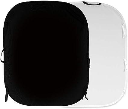 Lastolite Hintergrund Faltbar 1 5 X 1 8 M Schwarz Weiß Kamera