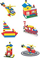 Toyztrend Expert Building Blocks for Kids, 180+ Pieces Blocks. let Your Kid Make Everything he/she Dreams of. Improves...
