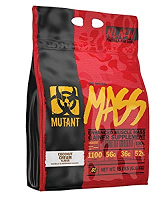 Mutant Mass Gainer, Ultimate Size and Strength Gainer for Putting On Those Wanted Pounds