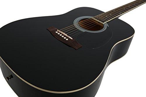 Navarra NV 31 Westerngitarre schwarz - 4