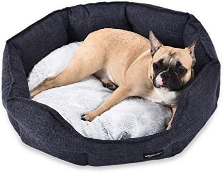 Amazon Basics Round Cuddler Bolster Pet Bed