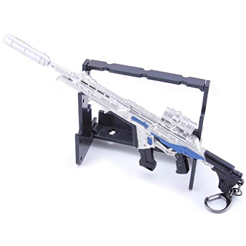 Rulien Eyes Mini R301 Carabina Pistola Prop Metal Arma Modelo Llavero Figura de Acción Artes...