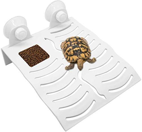 Turtle Basking Schwimmende Plattform Turtles Climbing Dock Krabbeln Rest Terrasse Aquarium Dekor für kleine Reptilien Schildkröte Frosch Newt Terrapin