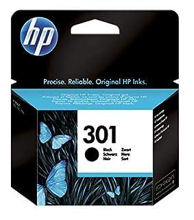 HP 301 CH561EE, Cartucho Original de Tinta Negro, compatible con impresoras de inyección de tinta HP DeskJet 1050, 2540,3050; OfficeJet 2620, 4630; ENVY 4500, 5530 (B003LNLPQ6)   Amazon price tracker / tracking, Amazon price history charts, Amazon price watches, Amazon price drop alerts