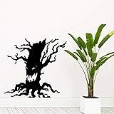 mlpnko Ghost Tree wasserdicht Wandaufkleber Wandkunst Dekoration Heimtextilien Wohnzimmer Schlafzimmer Wandaufkleber wasserdicht 42x43cm