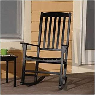 Mainstays Outdoor Rocking Chair, Black