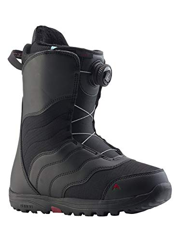 Burton Damen Mint Boa Snowboard Boot, Black, 6.0