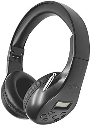 Portable Personal FM Radio Headphones Ear Muffs with Best Reception Wireless Headset with Built product image