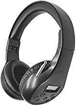 Portable Personal FM Radio Headphones Ear Muffs with Best Reception, Wireless Headset with Built in Radio for Mowing, Jogging, Walking, Daily Works Powered by 2 AA Batteries (Not Included)