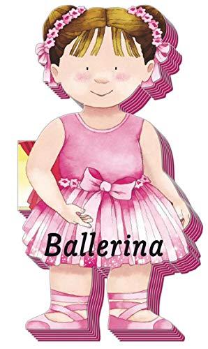 Kleine Freunde: Ballerina: formgestanzt mit farbigem Schnitt