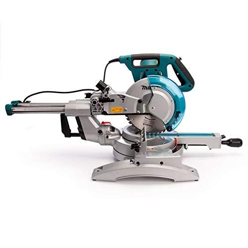Makita Werkzeug LS1018LN Kapp- und Gehrungszugsäge, 240 V, Blau - 3
