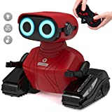 GILOBABY RC Robot Car, Remote Control Robot with Shine Eyes,...