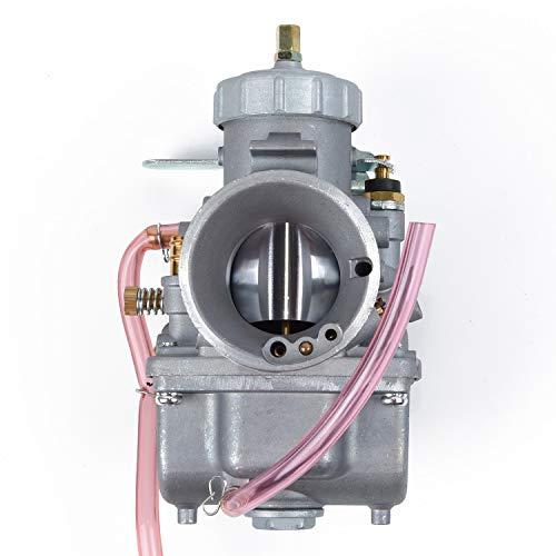 SDFDS Carburador Mikuni VM de Recambio for 34mm Ronda de Diapositivas VM34-168/42-6015 / VM34SC Extra Fácil Instalación 924