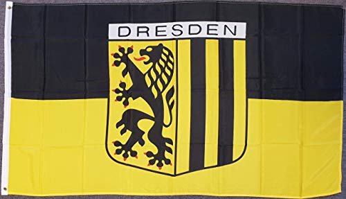 flaggenmeer® Flagge Dresden 80 g/m² ca. 90 x 150 cm