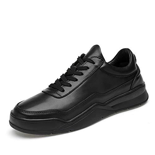 Ys-s Personalización de la Tienda Zapatos gimnásticos para Hombres Zapatillas Deportivas al Aire Libre Lace Up Echt Cuero Correr Entrenamiento Caminando Cómodo y Ligero