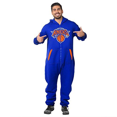 New York Knicks Team Logo Klew Suit - Blue - Medium image
