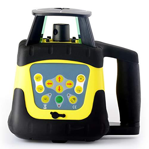 Firecore ローテーティングレーザー 自動整準レーザーレベル 回転レーザーレベル FRE205R 回転レベル レーザーレベル 測量 水平 受光器