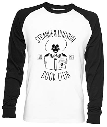 Ongebruikelijk Boek Club - Kever Sap Unisex Mannen Dames Honkbal T-shirt Wit Unisex Men Women Baseball T-shirt White