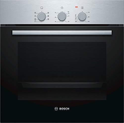 BOSCH Forno Elettrico da Incasso Serie 2 HBF011BR0J Capacità 66 L Multifunzione Ventilato Potenza 2970 W Colore Acciaio inox