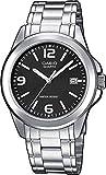 Casio Herren Analog Quarz mit Edelstahl Armbanduhr MTP1259PD1A