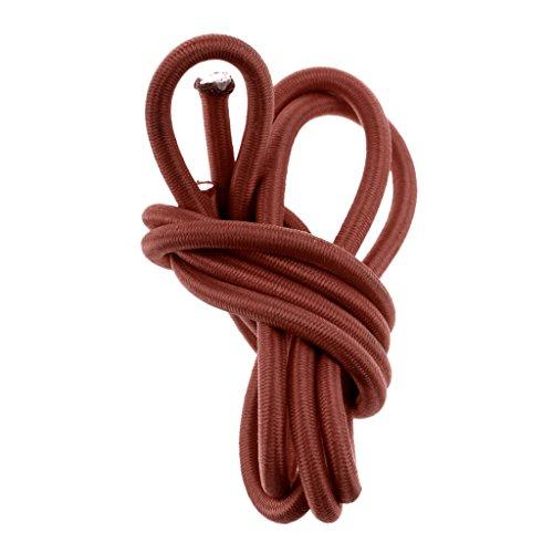 sharprepublic Cordón Elástico de Choque de Cuerda Elástica de 6 Mm para Amarre para Remolques de Barcos Elija Longitud - 5 Metros
