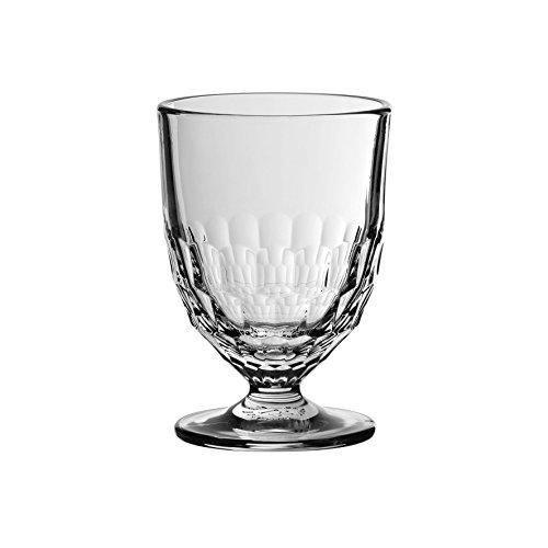 Côté Table 25245 Artois Verre à Vin avec Pied Argent 24 cl 7,5 x 7,5 x 11 cm (lot de 6)