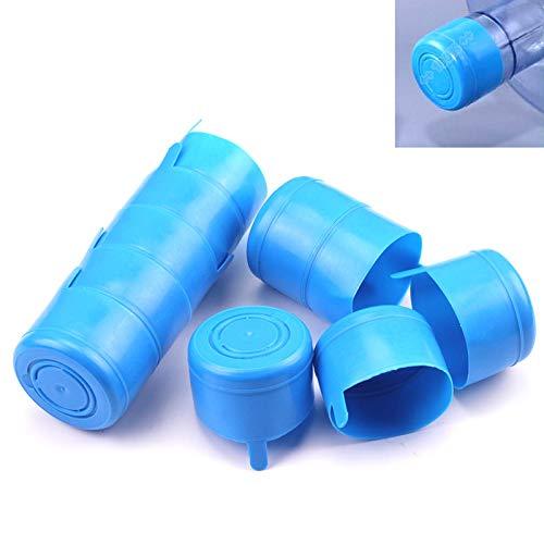 YIMYAN 10Pcs Wiederverwendbare Deckel Kappe für Wasserspender Tank Wasserflasche Snap On Verschluss für 55mm 3-5 Gallonen Wasserkrug