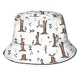 Trushop Unisex Bucket Hat Fisherman Hat Cap Donde All Da Mooses para Hombres Mujeres