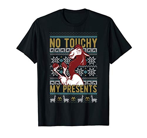 Disney Emperor's New Groove Kuzco No Touchy Ugly Christmas T-Shirt