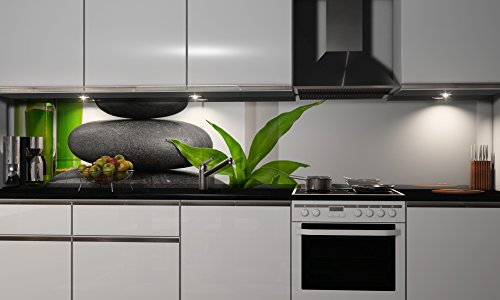More Design Küchenrückwand Folie selbstklebend Spritzschutz Fliesenspiegel Deko Küchenzeile Stone   mehrere Größen