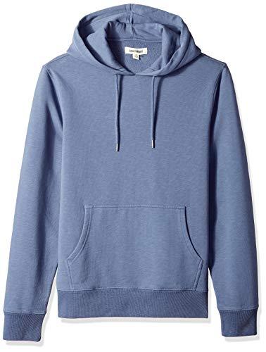Marca Amazon - Goodthreads – Sudadera con capucha de forro polar para hombre, Azul (vintage indigo), US XXXL (EU 5XL - 6XL)