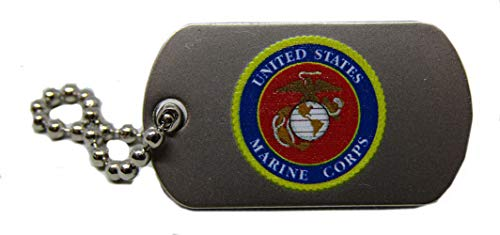 MWS Wholesale Pack of 3 United States Marine Corps Hat Cap Lapel Pin/Key Chain