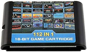 Nagotown 112en Une Seule Cartouche de Jeu Portable Carte de Jeu pour Retroad Sega Genesis