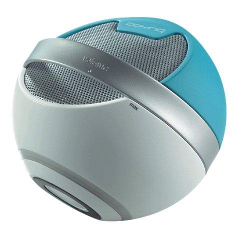 Boynq Saturn Mono-Lautsprecher, USB, ideal für PC, blau