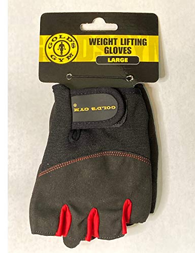Golds Gym Training, Workout Gloves, Weightlifting, Fitness, Exercise (Large)