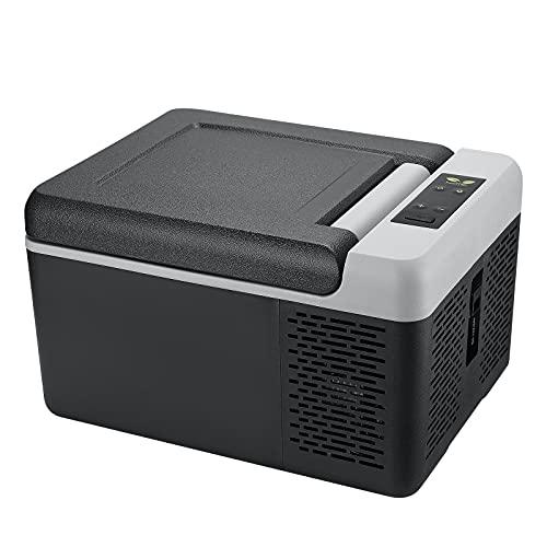 F40C4TMP 車載冷蔵庫 9L 小型 コンプレッサー式 アプリ制御 -20℃~20℃ 2電源対応 車載用冷蔵冷凍庫 12V 24V...