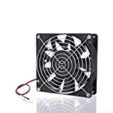 High Airflow 140mm x 38mm DC Powerful Fan 12V 209CFM Cooling for Mining Machine 5.5Inch 14038