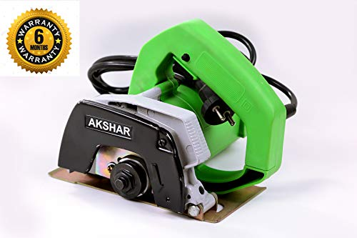 AKSHAR Marble Cutter Machine Capacity 110MM (220~V) (1050 W) (12000 RPM)