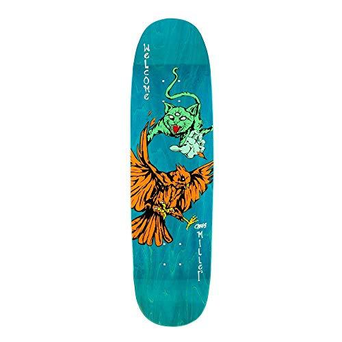 Welcome Skateboards Miller Prequel su Catblood 2 Skateboard Deck 8,75'