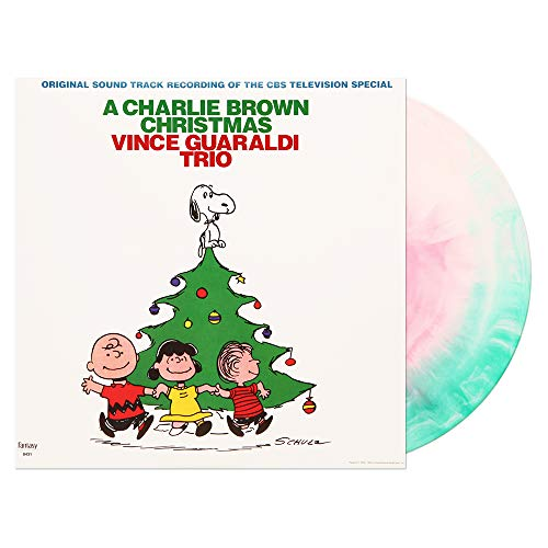 Vince Guaraldi Trio – A Charlie Brown Christmas Red, Green & White Vinyl