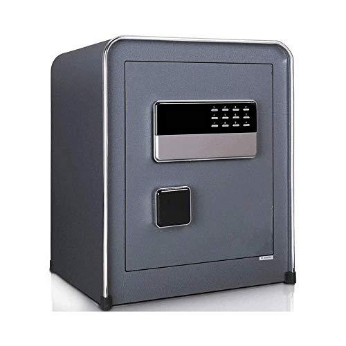 YIBOKANG Caja de seguridad de seguridad electrónica digital pequeña, caja fuerte de acero para el hogar y la oficina, gabinete seguro con el teclado para los objetos de valor de la joyería
