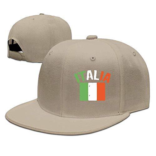 DAIAII Herren Baseball Caps,Hüte, Mützen, Classic Baseball Cap, Italia Men & Women Adjustable Plain Baseball Cap Plain Cap for Match