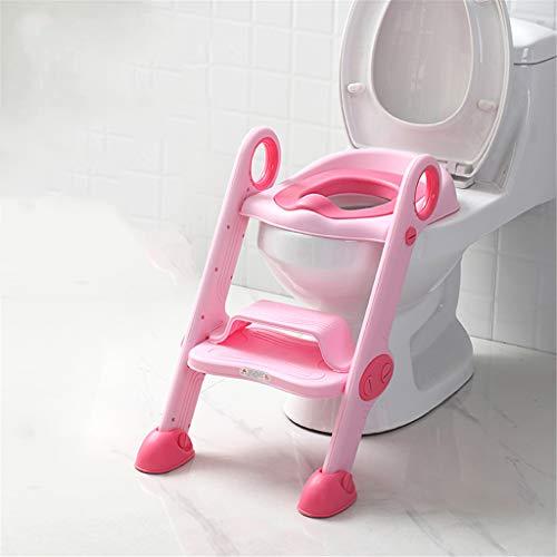 Pot Bébé Toilette Pot Formation Toilette Pot De Siège Les Enfants Chaise De Siège Avec Poignées Bébé Pads Potty Step Mise À Niveau PU 3 Coloris