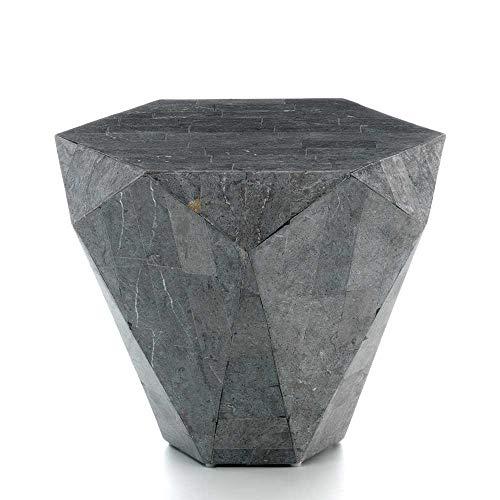 Pharao24 Stein Couchtisch in Grau modern
