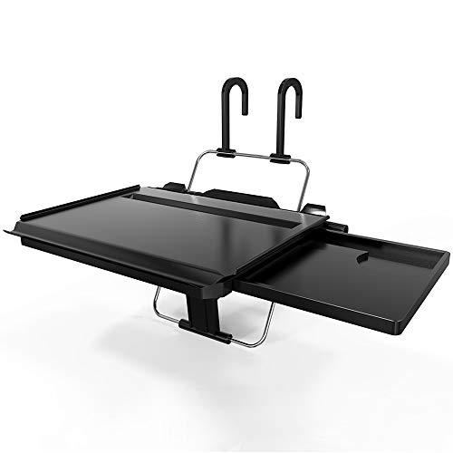 ElfAnt Car Steering Wheel Seat Headrest Multi-Functional Tray for Writing Laptop Dining Food Drink Work