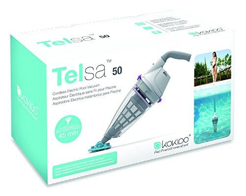 KOKIDO - TELSA 50 - Aspirateur rechargeable pour piscine , Ancien Vektro