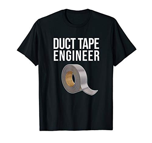 Duct Tape Engineer, Heimwerker, lustiges Duct Tape T-Shirt