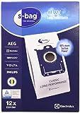 Electrolux E201SM Accessoires Aspirateur S-Bag Classic Long Performance 12 Sacs...