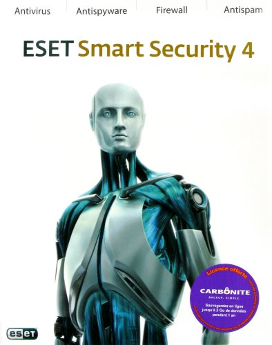 Eset Smart Security 4 (1 an, 2 postes)